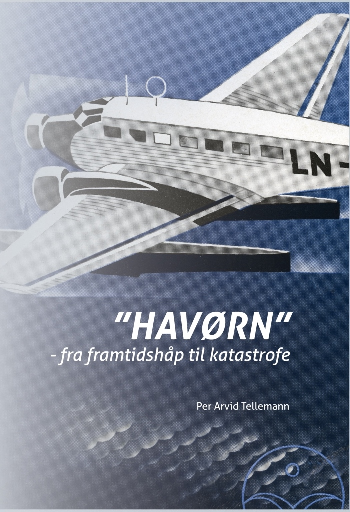 "Per Arvid Tellemann wrote this book about the largest aircraft accidents in pre-War Norway: the loss of the Junkers Ju 52/3m, LN-DAE ""Havørn"" of DNL on 16 June 1936."