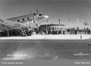 DC-2 on Fornebu