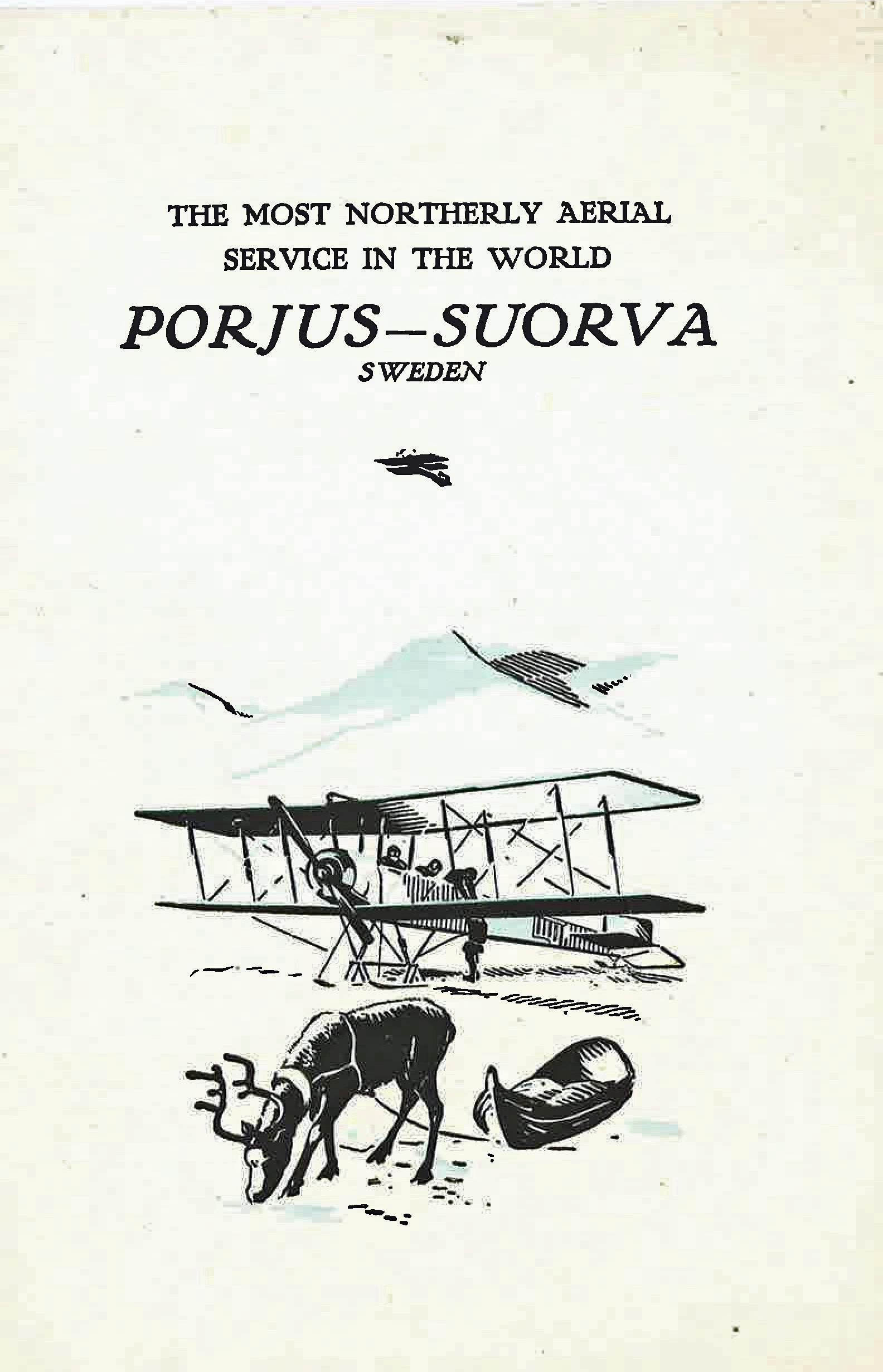 Porjus-suorva route